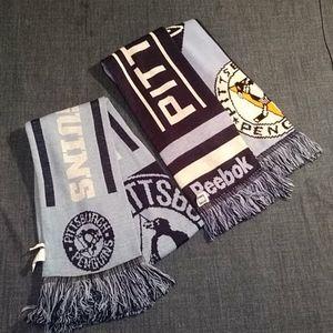 2- Pittsburg penquins scarves